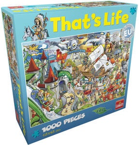 Goliath Games Puzzle That's Life – Amusement 1000 Teile
