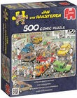 Jumbo Puzzle Jan van Haasteren Car Respraying shop 500