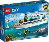 LEGO City Great Vehicles 60221 Tauchyacht