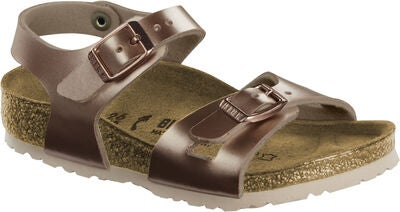 Birkenstock Rio Kids Sandalen, Electric Metallic Copper