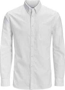 Jack & Jones Oxford Hemd, White