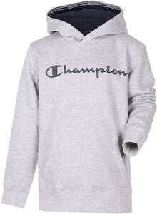 Champion Kids Hoodie, Gray Melange Light