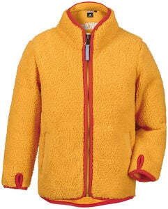 Didriksons Lo Pile Jacke, Mellow Yellow