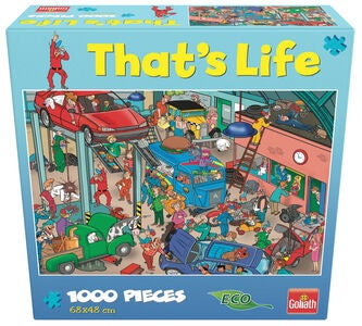 Goliath Games Puzzle That's Life - Garage 1000 Teile