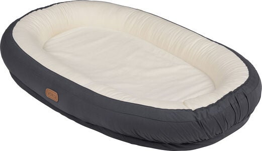 Voksi Babynest Care Solid Dark, Grey
