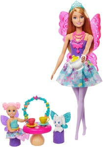 Barbie Dreamtopia Teeparty Spielset Mit Puppe