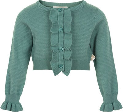 Creamie Structure Strickjacke, Sagebrush Green