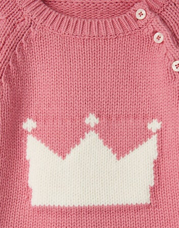 Tom Joule Beau Strickpullover, Pink Crown