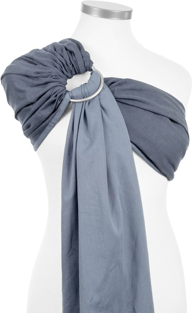 Fidella Ringsling Chevron, Denim Blue