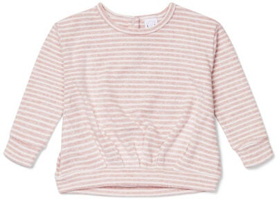 Luca & Lola Rosella Pullover, Pink Stripes
