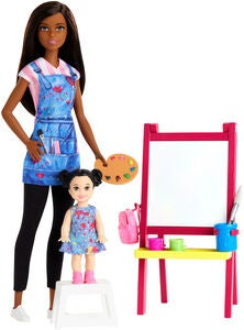 Barbie Puppe Art Teacher