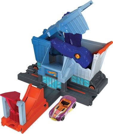 Hot Wheels Spielset Dinosaurier