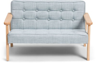 Alice & Fox Sofa, Hellblau