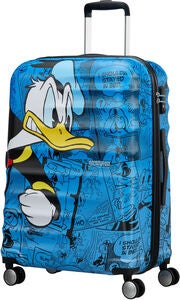American Tourister Disney Donald Duck Trolley, Blau 64L
