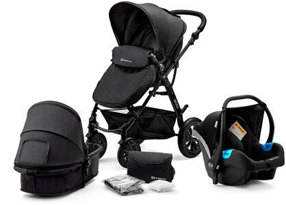 Kinderkraft Multipurpose 3-in-1 Moov Travelsystem, Black