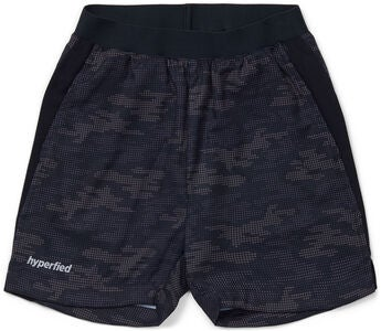 Hyperfied Mesh Shorts, Grey Camo