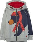 Tom Joule Seth Kapuzenpullover, Grey Bear