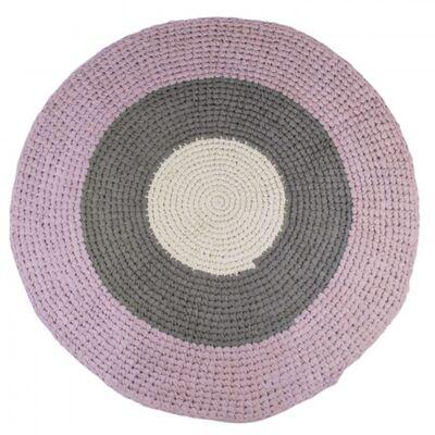 Kaufen Sebra Teppich Rund Grau Rosa Jollyroom