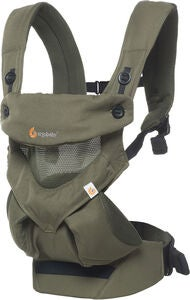 Ergobaby 360 Cool Air Mesh Babytrage, Khaki Green