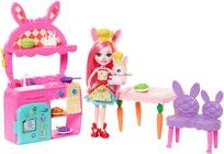Enchantimals Spielset Kitchen Fun Mit Bree Bunny & Twist