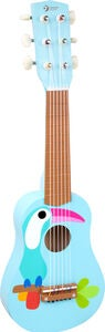 Classic World Toucan Gitarre, Blau