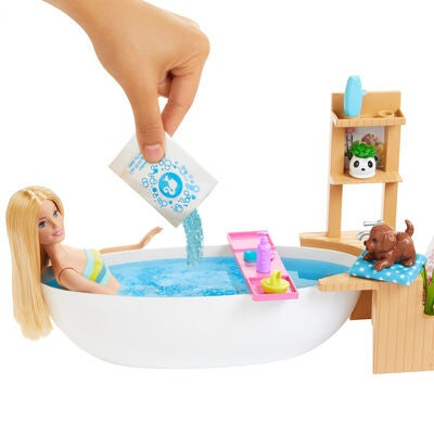 Barbie Wellness Puppe Bathtub