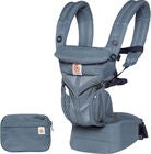 Ergobaby Omni 360 Babytrage Cool Air, Oxfordblau