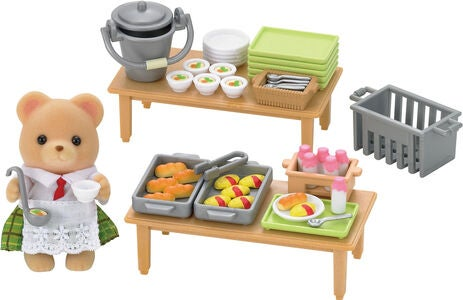 Sylvanian Families Spielset School Lunch Set