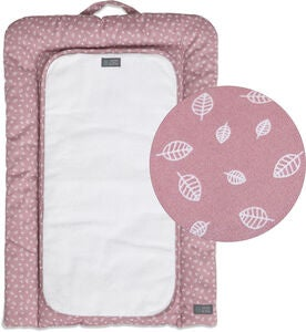 Vinter & Bloom Nordic Leaf Wickelunterlage, Soft Pink