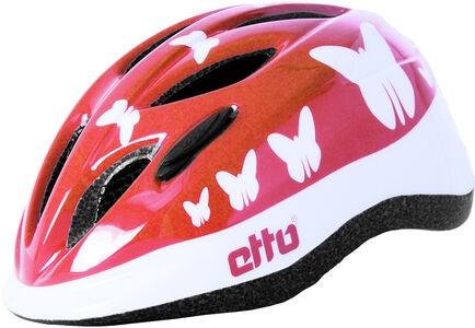 Etto Safe Rider Fahrradhelm, Happy Butterfly