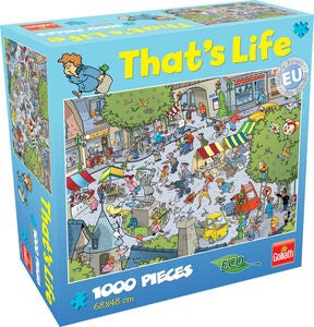 Goliath Games Puzzle That's Life – Village 1000 Teile