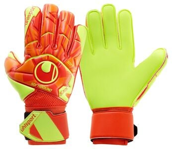 Uhlsport Soft Flex Frame Torwarthandschuh, Orange/Rot