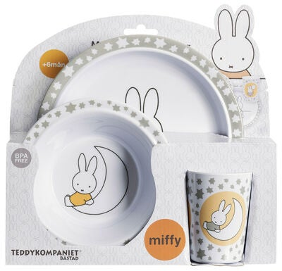 Miffy Melaminset, Grau