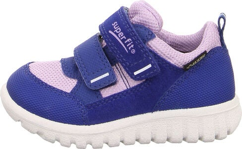 Superfit Sport7 Mini Sneaker, Blue/Violet