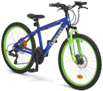 Impulse Premium Dread Mountainbike 24 Zoll, Blue/Green
