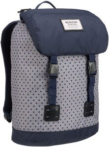 Burton Tinder Pack Youth Rucksack, Wild Dove Polka Dot