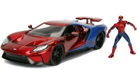 Marvel Spider-Man 2017 Ford GT mit Figur