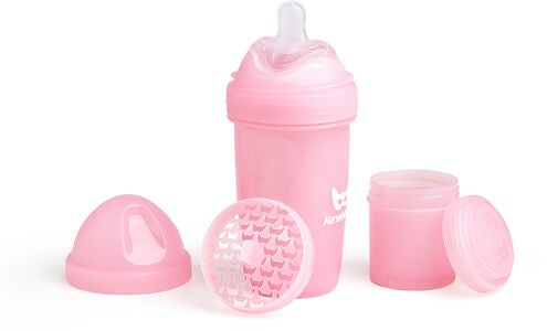 Herobility Baby Bottle 240 ml, Rosa