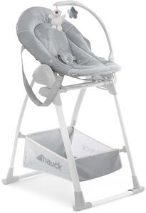 Hauck Sit N Relax 3-in-1 Hochstuhl, Stretch Grey