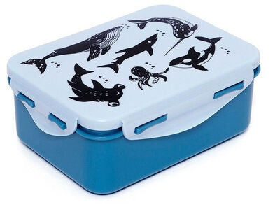 Petit Monkey Lunchbox Sea Animals
