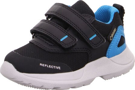 Superfit Rush GTX Sneakers, Black/Blue