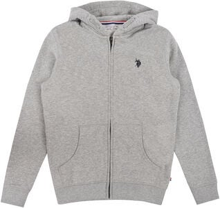 U.S. Polo Assn. Core Kapuzenjacke, Vintage Grey Heather