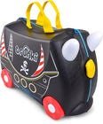 Trunki Pedro the Pirate Koffer 18L, Black
