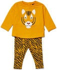Luca & Lola Sorelina Fleece-Set, Tiger