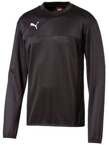 Puma Esquadra Sweat Trainingsoberteil, Schwarz