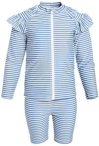 Luca & Lola Bianche UV-Set, Blue Stripes