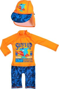 Swimpy UV-Anzug & Hut, Shark Surf