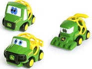 Oball Go Grippers John Deere 3er-Pack Farm Vehicles
