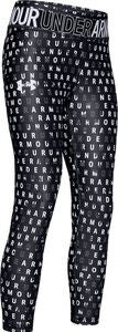 Under Armour Printed Ankle Crop Tights, Black