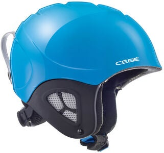 Cébé Pluma Basics JR Skihelm, Shiny Neon Blue